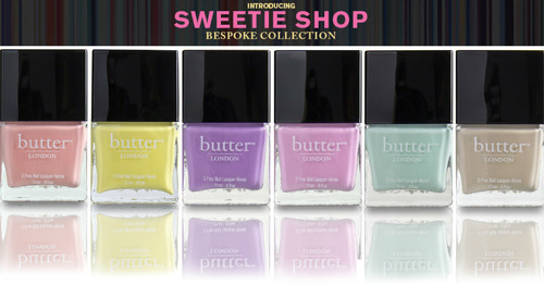 Butter London Sweetie shop
